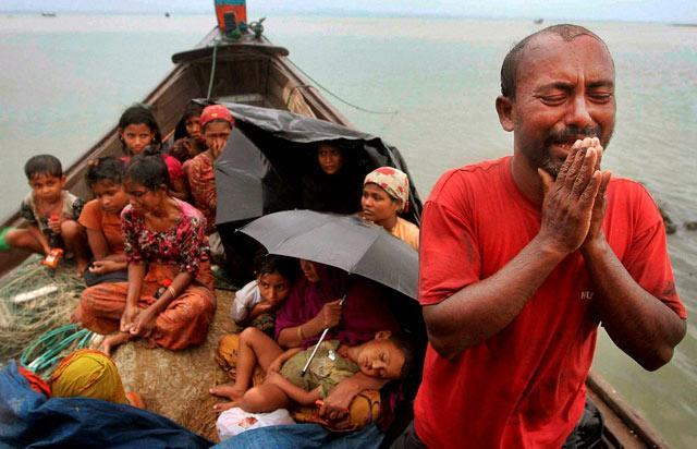 Pengungsi-Rohingya